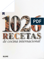 Cocina - 1026 Recetas de Cocina Internacional Vegetariana