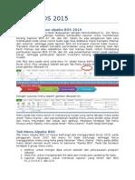 Petunjuk Alpeka BOS 2015