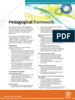pedagogical-framework