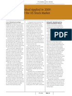 Wyckoff - Case Study of the US Stock Market 2009