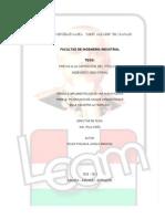 Diseño e Implementación de una Nueva Planta para la Producción de Caldos Concentrados en la Industria la Fabril S.A.