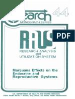 endocrine effects of marijuana