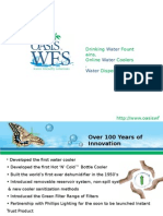 Oasis Water Friendly Solution – Water Drinking Fountains