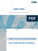 Solution Highlight Package - GSM C-RAN