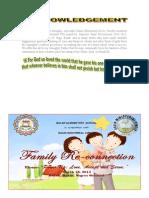 Program Inviatation Fam Day