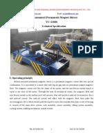 Permanent Magnet Stirrer for aluminum melting furnace&holding furnaces