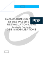 EVALUATION LIBRE DES IMMOBILISATIONS