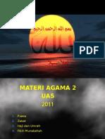 Ag 2 Puasa, Zakat, Dan Haji 2011