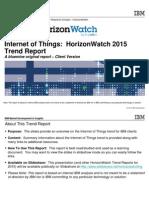 Iot Trend 2015
