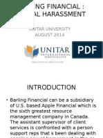 Barling Financial Case Study Analysis