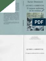 Química Ambiental, El Impacto Ambiental De Los Residuos 5° Edición - Xavier Domenech Antunez (Subido por Williams Lillo).pdf
