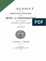 Het leven en de werken van den stempelsnijder Johann Crocker (1670-1741). [II] / A.J.C. van Gemund