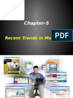 5th Chapter Recent Trends in Marketing[1]