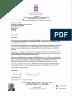 David Stewart Letter to Derek Mackay