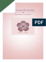 Dictionar Economic