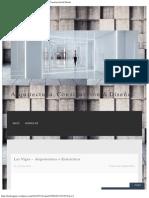 Las Vigas – Arquitectura + Estructura _ Arquitectura, Construcción & Diseño