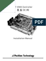 Ct v 900 a Manual Instalare Centrala Control Acces 2 Usi Paradox Centaur Position Technology Cdvi
