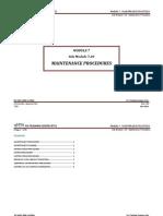 Module 7 (Maintenance Practices) Sub Module 7.20 (Maintenance Procedures).pdf