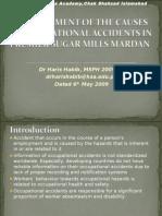 Occupational Accidents Haiis Habib
