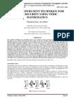 A NOVEL EFFIECIENT TECHNIQUE FOR DATA SECURITY USING VEDIC MATHEMATICS