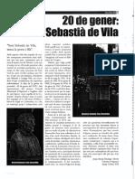 DOMINGO i BORRÀS, Josep-Antoni - 20 de Gener, Sant Sebastià de Vila (Berca, Feb 2002)