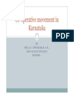 Co-operative Movement in Karnataka Updated