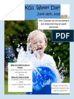 water day poster