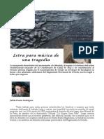 Monumento a Los Asturianos. Letra Para Música de Una Tragedia.
