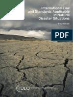 LEYES Y ESTÁNDARES INTERNACIONALES PARA SITUACIONES DE DESASTRE