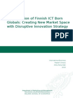 Globalization of Finnish ICT Born Globals