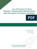 Globalization of Finnish ICT Born Globals