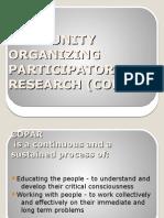 Community Organizing Participatory Research (Copar)