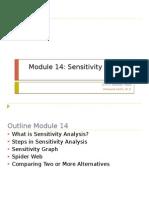 Module 14 Sensitivity Analysis