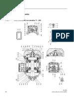 Plano de Partes Motor