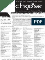 DefendMarriage.org Washington Post Ad