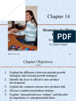 Chp 14. Strategies for Firm Growth