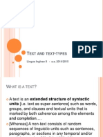 Text and Text-types
