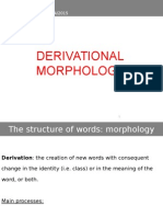 2. Derivational Morphology_presentation