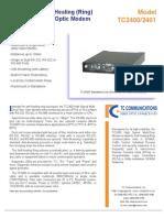 Tc 2400 Data Sheet