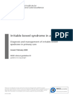 Guidance Irritable Bowel Syndrome in Adults PDF