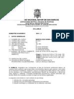 Morfologia Animal Comparada Plan 2003, Prof. Pedro Huaman , Sem 2014-2