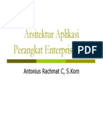 Arsitektur Aplikasi Perangkat Enterprise SOAP (Simple Object Access Protocol)