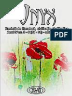 Revista de Literatura Onyx Nr. 33-34