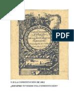 CONSTITUCIÓN 1812 Cuaderno Del Alumno