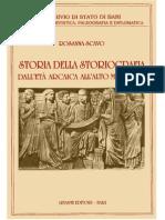 Rosanna Scavo - Storia della storiografia dall'età arcaica all'alto medioevo