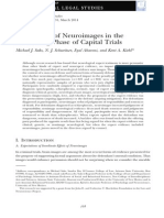 2014 - The Impact of Neuroimages in the Sentencing Phase of Capital Trials