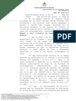 Continúa la investigación por enriquecimiento a Julio De Vido