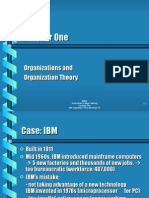 1 Organizations and Organization Theory