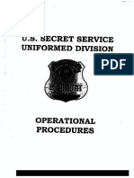 Redacted United States Secret Service Uniform Division Vehicle Pursuit and Use of Force Policies