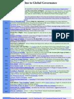 Timeline to Global Governance (1891-2002)